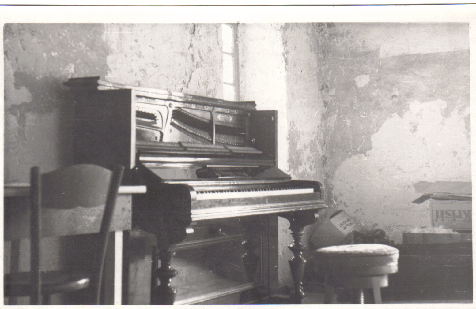 Georges Piano at Neuchate 1948