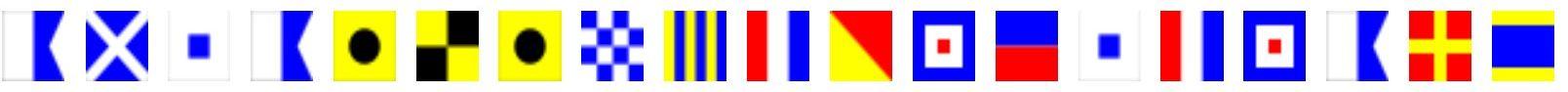 Westwards Flag Signal